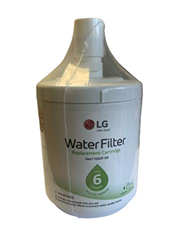 LG LT500P Refrigerator Water Filter, Filters up to 500 Gallons of Water, Compatible with Most LG Side-by-Side Refrigerators
