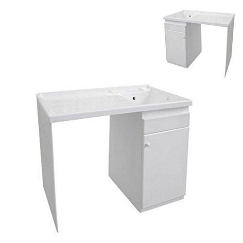 Bagno Italia Lavapanni lavatoio con portalavatrice per Esterno in ABS I