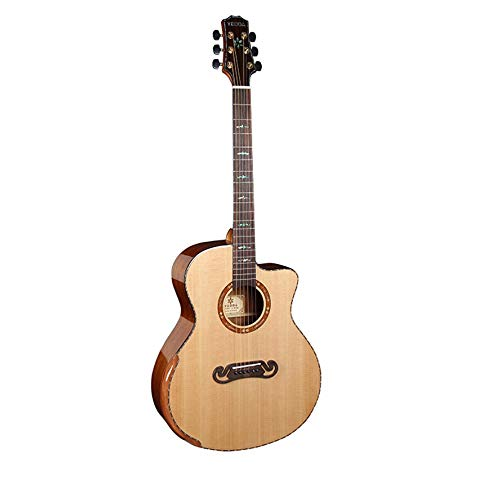 Boll-ATur 41-Zoll-Akustikgitarre Fichte Panel-Sapele-Backboard Anfänger Gitarren-Qualitäts-20frets Profi-Spieler Palisandergriffbrett Akustikgitarre