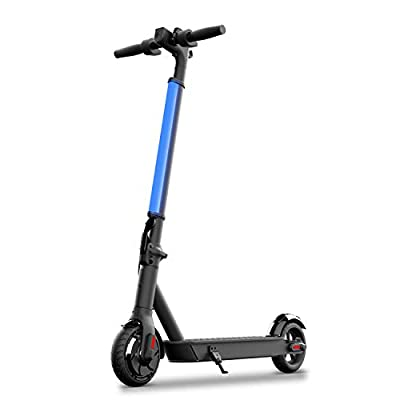 "Hiboy S2 Lite Electric Scooter - 6.5"" Solid Tires - Up to 10.6 Miles Long-Range & 13 MPH Portable Folding Commuting Kick-Start Boost Scooter for Teens/Adults"