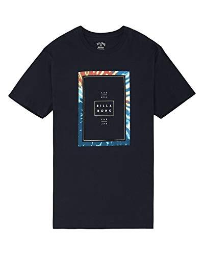 Billabong Tucked Tee Ss T-Shirt, Hombre, Navy, M