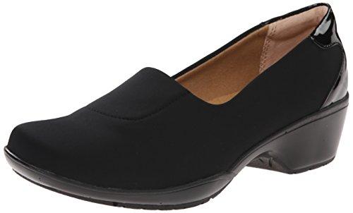 softspots Women's Marnie Slip-On,Black Stretch Lycra,US 6 M