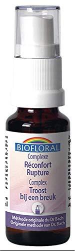 Biofloral Fleurs de Bach Complexe Réconfort Rupture C21 Bio 20 ml