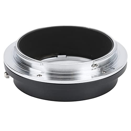 Goshyda Adaptador de Lente, NEWYI para Anillo convertidor de Adaptador de aleación EOS-GFX, para Lente Canon EF/EF-S para cámara Fujifilm GFX