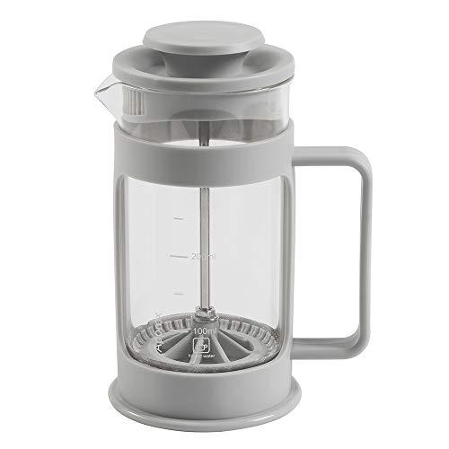 ProCook Kaffeebereiter aus Glas - 3 Tassen/ 360 ml - French Press - mit Stay-Cool Griff und Deckel - Cafetiere