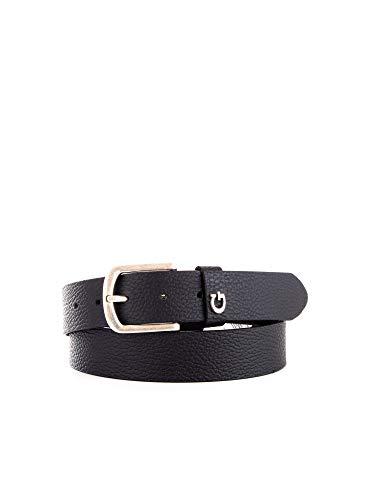 Guess Cintura con Fibbia logata Not Coordinated Nero Pelle Uomo XL