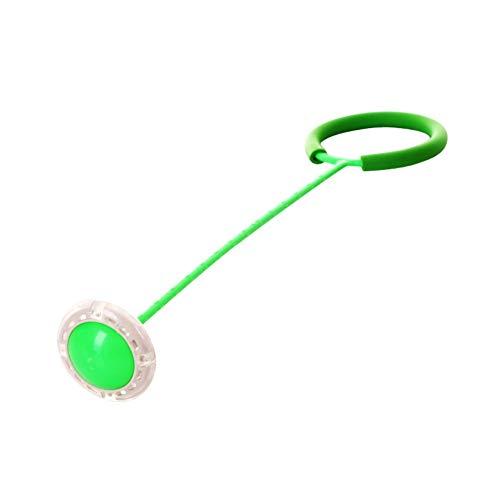 Hankyky Flashing Jumping Ring Kinder Indoor Outdoor Spaß Sportspielzeug LED-Spielzeug Bunte Knöchel Skip Springseile Sport Swing Ball Kind Kunststoff Sportspielzeug