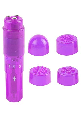 GSV Store Mini Waterproof Massager Purple FANTASY7898