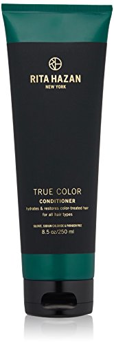 Rita Hazan True Color Conditioner For Color Treated Hair Hydrates Without Weighing Hair Down, 8.0 oz
