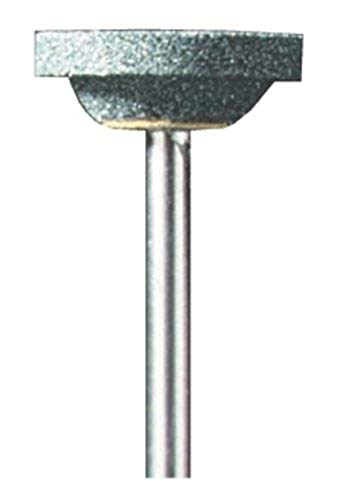 Dremel 85422 Siliziumkarbid-Schleifstein - Zubehörsatz für Multifunktionswerkzeug mit 1 Schleifsteinen Ø 3.2mm zum Schärfen und Schleifen von Glas, Granit, Marmor, Porzellan, Keramik, Kupfer u.v.m