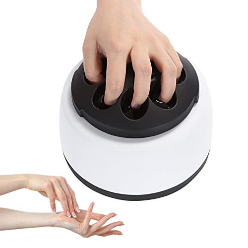 Wikidea Removedor de Esmalte de uñas a Vapor, máquina desengrasante de Gel rápido, Adecuado para Eliminar Varios Tipos de Esmalte de uñas