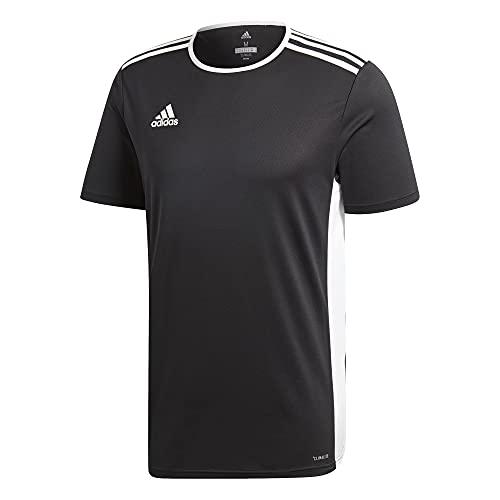adidas Kids' Standard Entrada 18 Jersey, Black/White,...