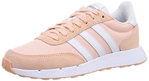 adidas Run 60s 2.0, Zapatillas de Running Mujer, ROSVAP/FTWBLA/HIEMET, 36 EU
