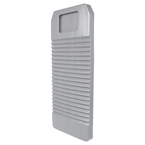 NUOBESTY Tablero de Lavado de Plástico Manual Tabla de Lavado Lavadero Portátil Lavador de Ropa Herramienta de Lavado para Viajes en Casa