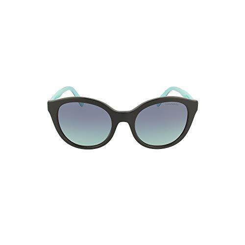 Tiffany Occhiali da Sole TF 4164 BLACK/BLUE SHADED 52/20/140 donna