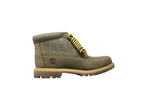 Timberland Women's Nellie Waterproof Chukka Boots Boot (Lt Green Nubuck, 7)