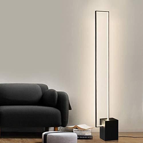 Lámpara De Pie LED Moderna Lámpara De Pie Ajustable con Mando A Distancia Y Interruptor De Pie 3 Tipos De Luces Utilizado En Sala De Estar Dormitorio Hogar