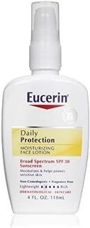 Body Care / Beauty Care Eucerin Daily Protection Moisturizing Face Lotion, SPF 30, 4-Ounce Bottles (Pack of 2) Bodycare / BeautyCare