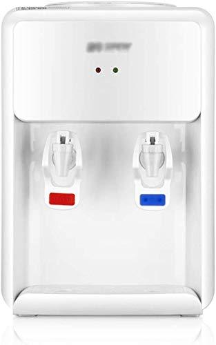 LIANYANG Dispensador de Agua con Grifo con Grifo,Caliente,encimera Mini Soporte para Beber Dispensadores de Botellas de Agua Soporte para Cocina Oficina en el hogar Blanco