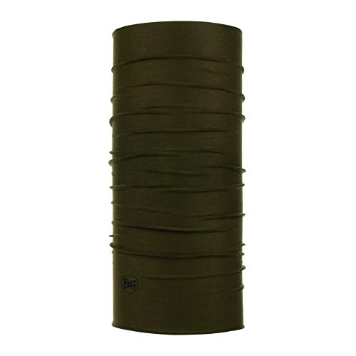 Buff Erwachsene Coolnet UV+ mit Insect Shield Multifunktionstuch, Solid Military, One Size