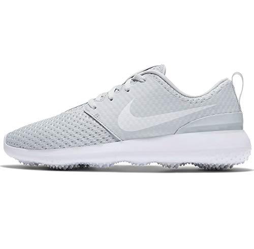 Nike Damen Roshe G Golfschuhe Cd6066-002, Weiá (Reines Platin/Metallic Weiß-Weiß), 38 EU