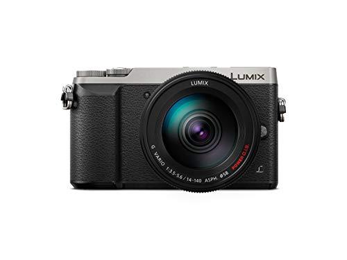 Panasonic Lumix DMC-GX80HEG MILC 16 MP Live MOS 4592 x 3448 Pixeles Negro, Plata - Cámara digital (16 MP, 4592 x 3448 Pixeles, Live MOS, 2x, 4K Ultra HD, Negro, Plata)
