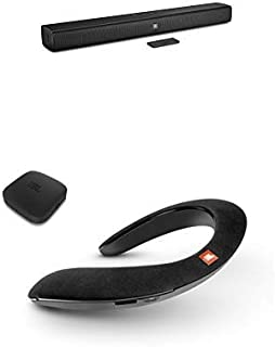 JBL Bar Studio 2.0chホームシアターシステム(ブラック) + SoundGear BTA ウェアラブル ネックスピーカー ワイヤレスオーディオトランスミッター付き(ブラック)