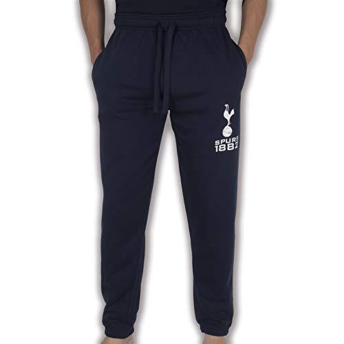Tottenham Hotspur FC - Herren Fleece-Jogginghose - Offizielles Merchandise - Geschenk für Fußballfans - Marineblau - L