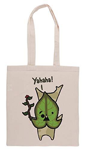 Luxogo Yahaha! Einkaufstasche Groceries Beige Shopping Bag