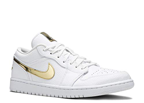 Nike Air Jordan 1 Low 'Metallic Gold' Women's Sneakers CZ4776-100 (Numeric_8_Point_5)