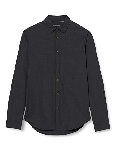 Sisley Shirt Camicia, Multicolore 901, 38 Uomo