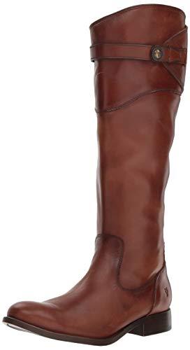 Frye Women's Molly Button Tall Boot, Cognac, 8 M US