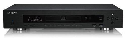 Oppo Digital BDP-103 - Reproductor de DVD (Ethernet, disco duro de 1 GB, 2D a 3D), negro [Importado]