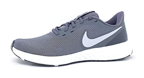 Nike Revolution 5, Scarpe da Corsa Uomo, Cool Grey/Pure Platinum-Dk Grey, 9 UK