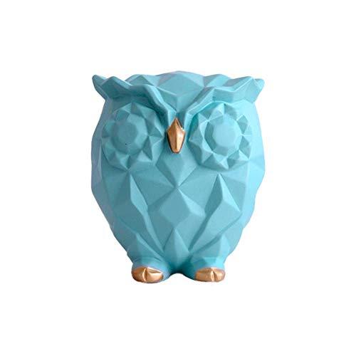 KKUUNXU Simple nórdico Tridimensional decoración de Aves Sala de Estar Creativa Mueble de TV Armario de Vino Ventana Animal decoración del hogar Muebles