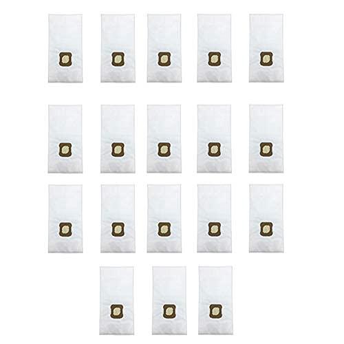 De Galen Ersatzteile Hausreinigung 18 Stück Staubsaugerbeutel passend für Kirby G7E G10 G10E G5 G6 KY10 MK2 MK3 Hausreinigung (Farbe: Weiß) Staubsaugerzubehör (Farbe: Weiß)