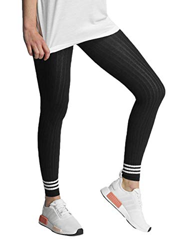 adidas Tight 3 Stripes Mallas, Mujer, Azul (Tinley), S