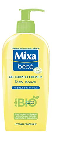 Mixa Bébé Gel Corps et Cheveux Bio 250 ml