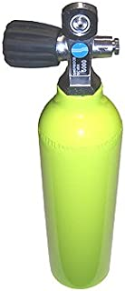 Sherwood 6 cu ft 3000 PSI Aluminium High Pressure Spare Emergency Tank Cylinder with Valve for Scuba Diving Pony Bottle