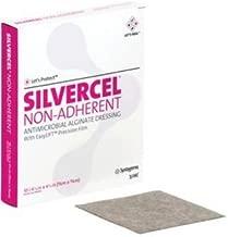 Silvercel 900404 Antimicrobial Alginate Dressing, 1 Each