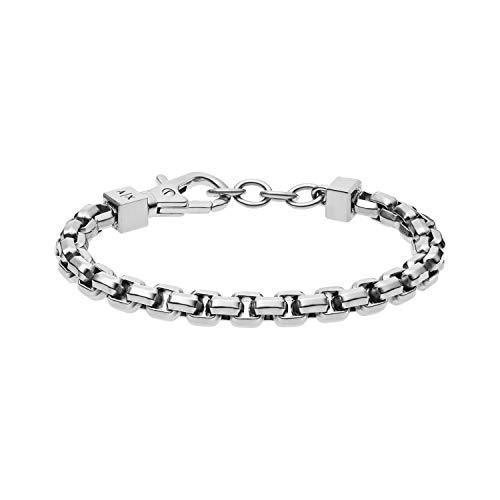 Armani Exchange Stainless Steel Chain Bracelet