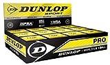 Pelota de Squash Dunlop Revelation Pro (Doble Punto Amarillo)