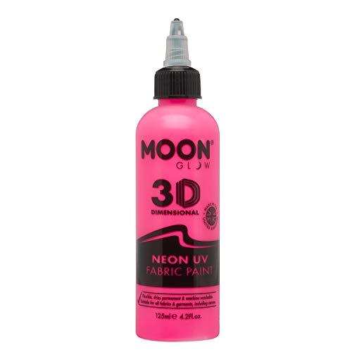 Moon Glow - Neon UV Intense Fabric Paint, Pink
