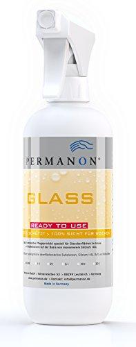 Permanon GLASS, 500ml, ruiten - glasverzegeling incl. glasreiniger - impregneert langdurig raam met briljant glanseffect