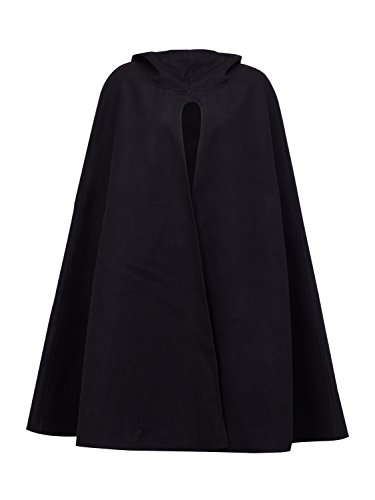ladies hooded cape - 3