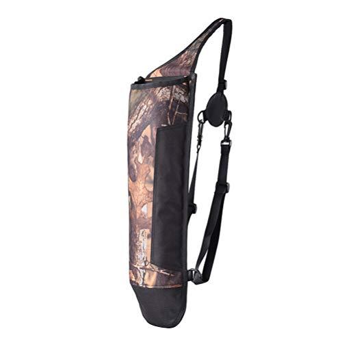 BESPORTBLE Pfeil Köcher Einzelne Umhängetasche Jagd Training Lagerzylinder Pfeil Topf Ziel Köcher Halter (Tarnung)