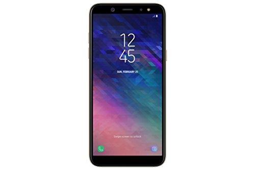 Samsung Galaxy A6 (2018) Smartphone, 32 GB Espandibili, Dual Sim, colore Oro (Gold) [Versione Italiana]