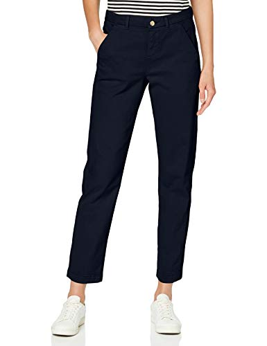 7 For All Mankind Chino Pant Pantaloni Casual, Blu Scuro, 38^40 Donna