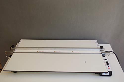 OVILI O-801 Dobladora/Plegadora (80 cm) para hacer mamparas de metacrilato, acrílico, PVC, ABS