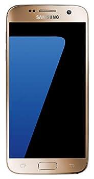 Samsung SM-G930UZDAXAA S7 Gold Galaxy Smartphone Unlocked-32Gb Water-resistant up to 5 Feet US Warranty